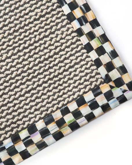 Braided Wool/Sisal Rug, 8' x 10'