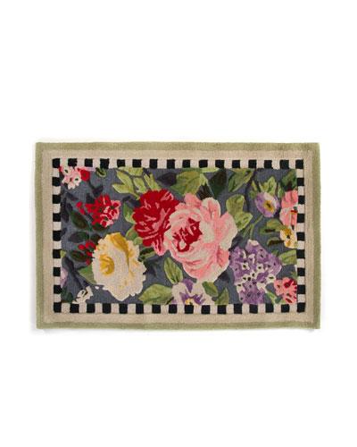Tudor Rose Rug  3' x 5'
