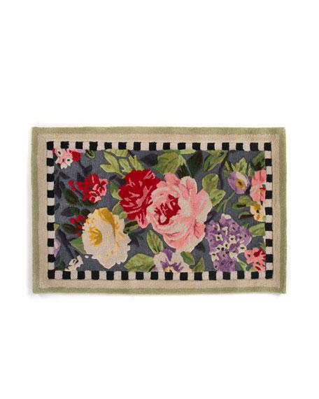 Tudor Rose Rug, 3' x 5'