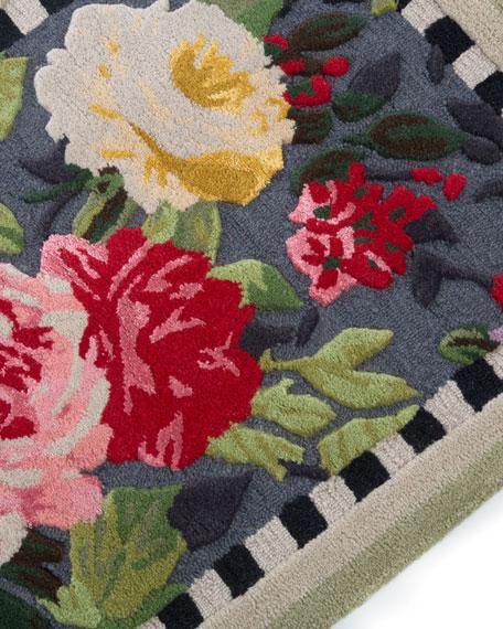 Mackenzie Childs Tudor Rose Rug 2 25 X 3 75 And Matching Items