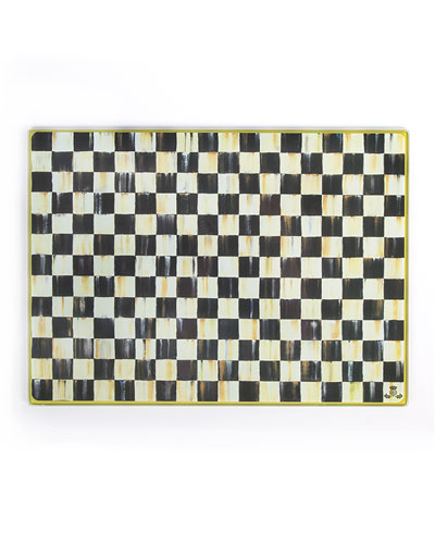 Courtly Check Cutting Board