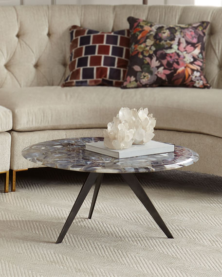 Charlotte Agate Coffee Table