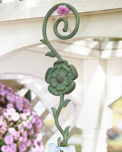 Flower Garden Birdhouse Hook