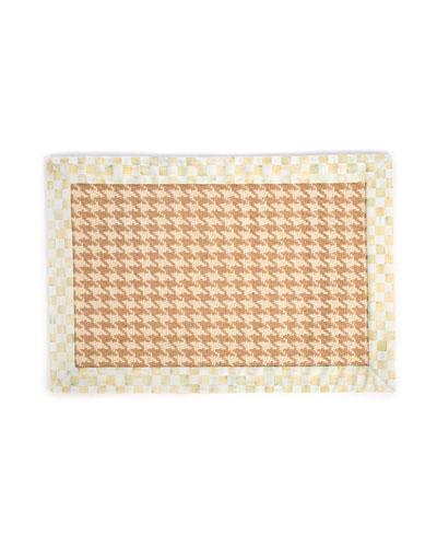 Houndstooth Wool/Sisal Rug, 2' x 3'