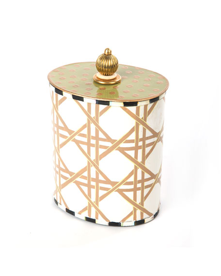 Lattice Cotton Box