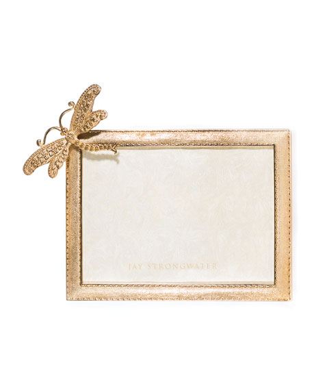 """Tori Dragonfly Picture Frame, 5"""" x 7"""""""