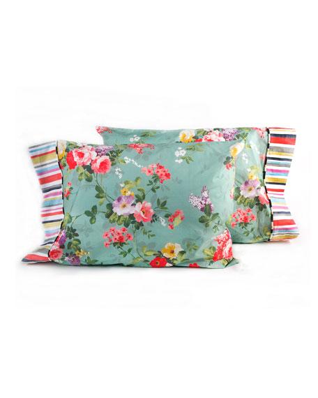 Standard Chelsea Garden Pillowcases, Set of 2