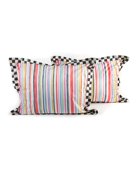 Standard Chelsea Stripe Shams, Set of 2