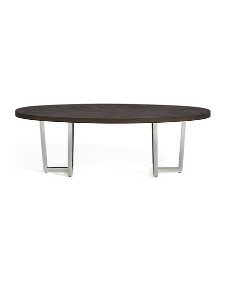 Chason Oval Coffee Table