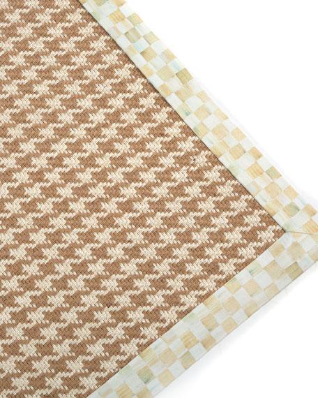 Houndstooth Wool/Sisal Rug, 3' x 5'