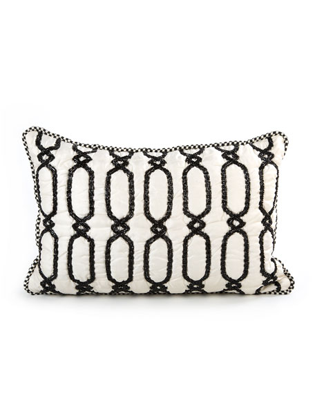 Trellis Lumbar Pillow