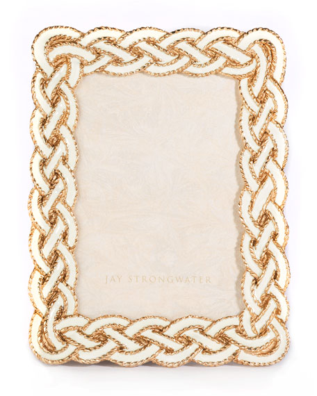 "Quinn Braided Picture Frame, 3.5"" x 5"""