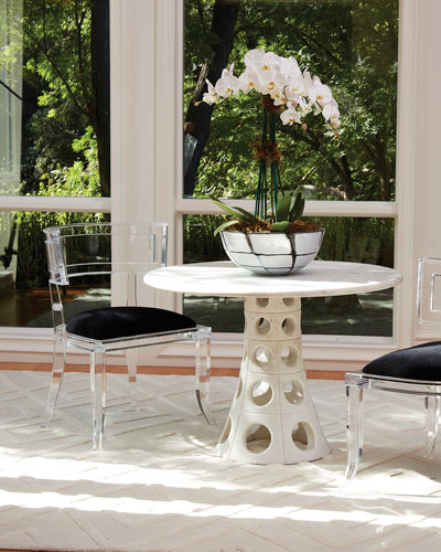 Fitz Acrylic Chair