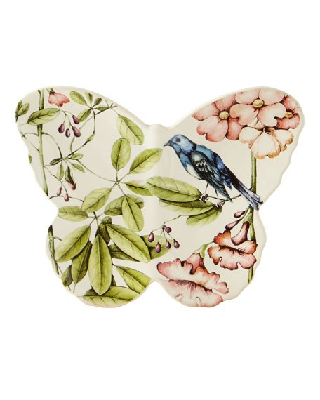 Belle Botanica Butterfly Plate