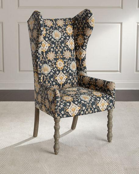 Cruz Leaf Wingback Chair
