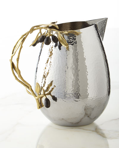 Olive Branch Pitcher