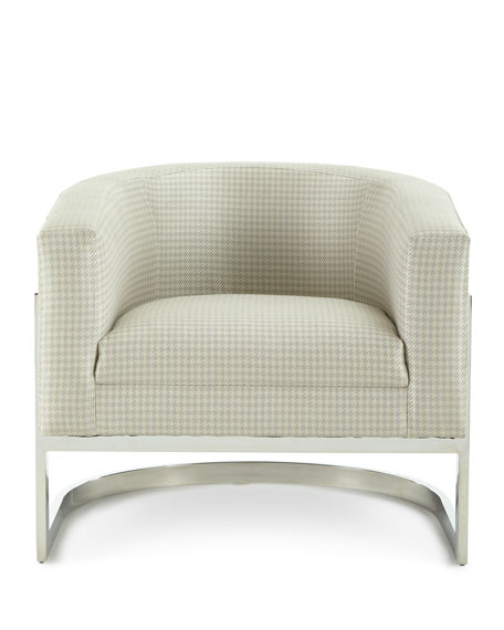 Dorota Houndstooth Chair