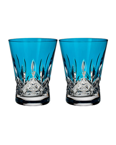 Set of 2 Lismore Pops Double Old-Fashioneds