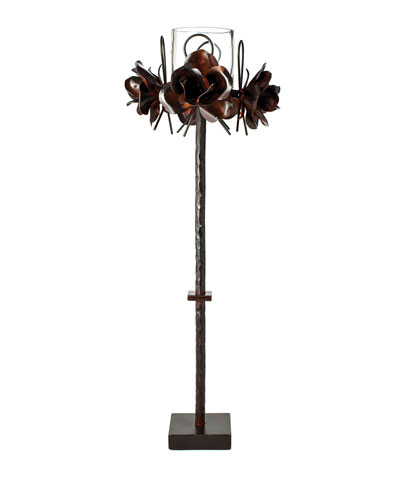 4 Rosas Candlestick