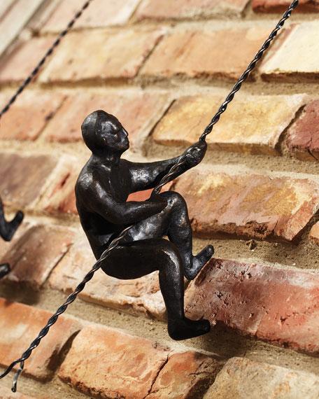 Global Views Climbing Men Wall Decor