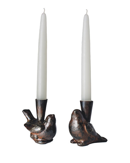 Two Cotorro Candlesticks