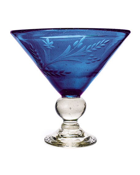 Wee-Bee Magnum Martini Glass, Blue