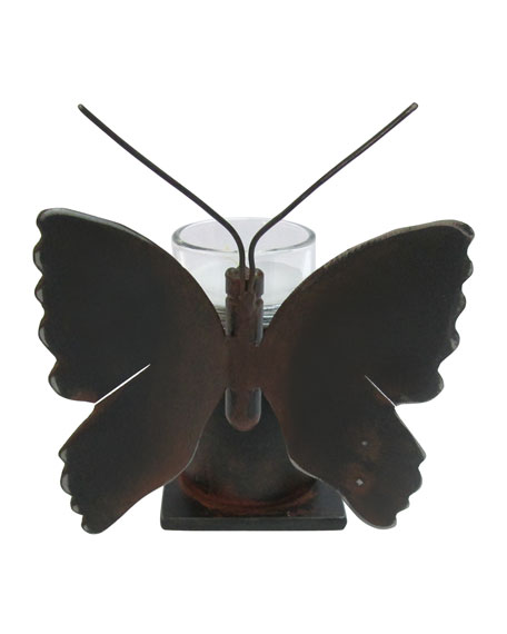 Mariposa Iron & Glass Votive