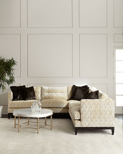 Valencia Button-Tufted Sectional