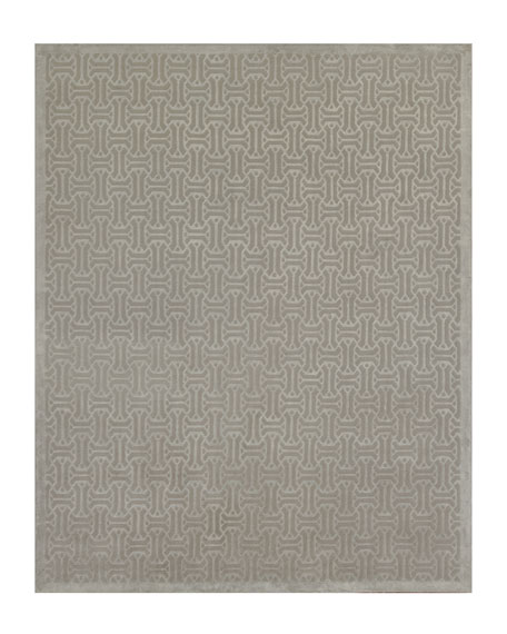 Canton Stone Hand-Knotted Rug, 10' x 14'