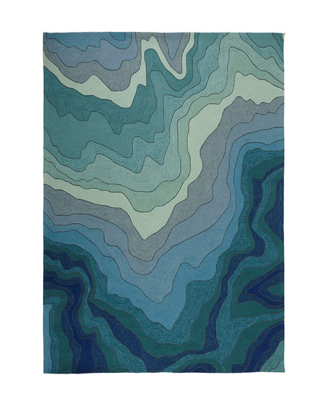 "Mykonos Breeze Indoor/Outdoor Rug, 7'6"" x 9'6"""