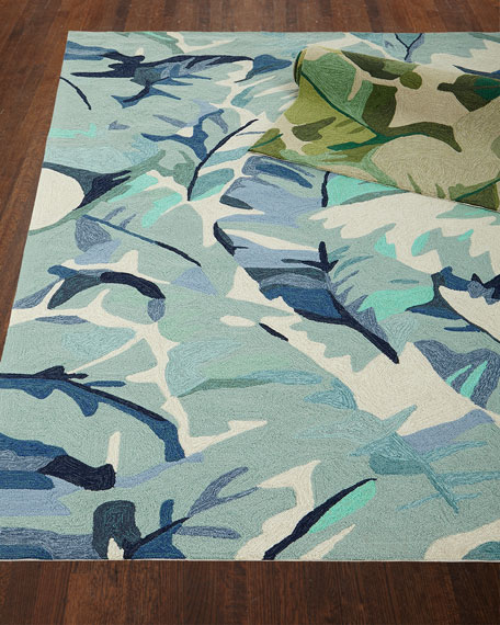 "Palm Beach Indoor/Outdoor Rug, 7'6"" x 9'6"""
