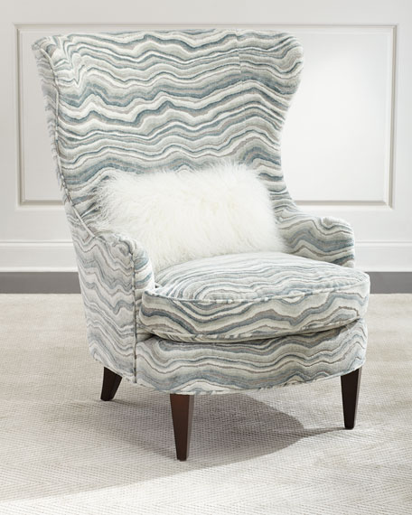 Ambella Begonia Wing Chair