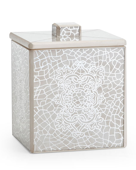 Miraflores Ivory Bath Canister