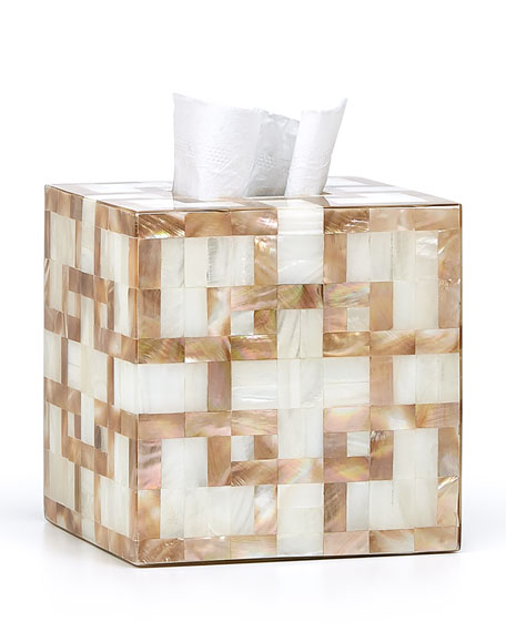 Parquet Tissue Box Cover
