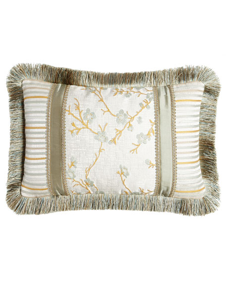"Blossom Boudoir Pillow, 13"" x 21"""