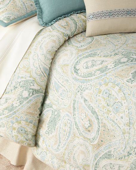 Queen Bliss 3-Piece Comforter Set