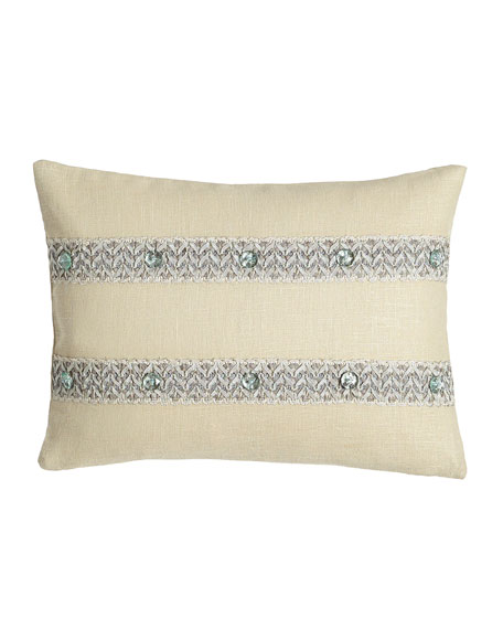 "Bliss Oblong Pillow, 12"" x 16"""