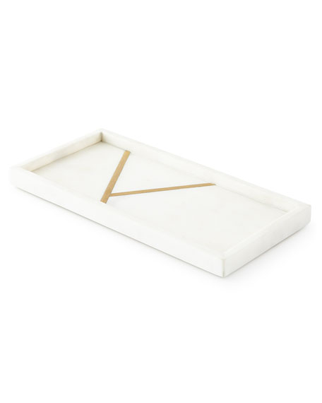 Marble Brass Tray