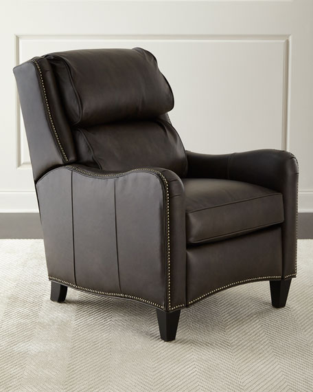 Bradington-Young Lafayette Leather Recliner