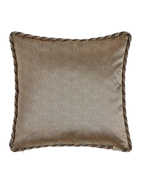 "Jupiter Reversible Pillow, 19""Sq."
