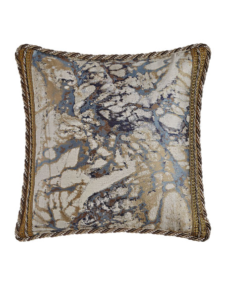 "Jupiter Reversible Pillow, 19""Sq."
