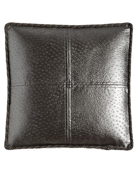European Loft Faux-Leather Sham