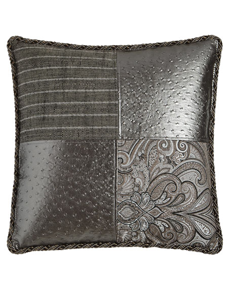 Loft Patchwork Pillow