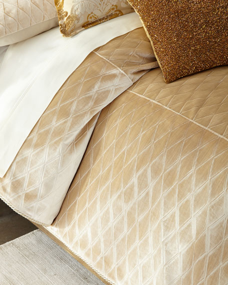 Queen Aurelia Diamond Duvet Cover