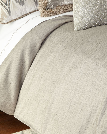 Queen Ethos Gray Duvet Cover