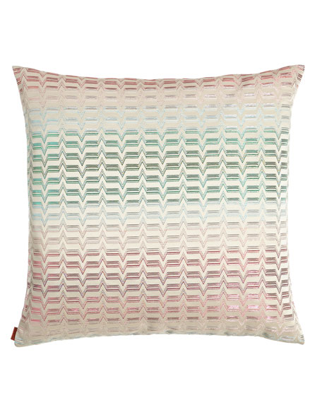 "Tikal Pillow, 24""Sq."