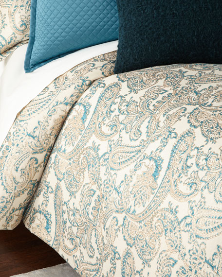 Ann Gish Queen Arabesque 3-Piece Duvet Cover Set