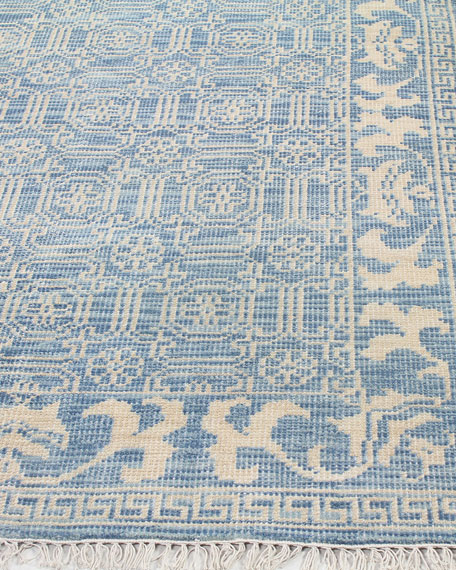 """Rory Hand-Knotted Runner, 2'6"""" x 8'"""