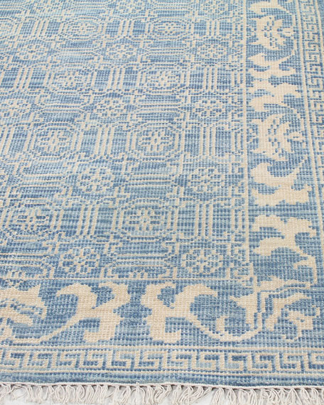 """Rory Hand-Knotted Rug, 7'6"""" x 9'6"""""""