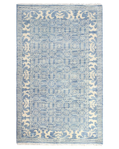 Rory Hand-Knotted Rug  7'6 x 9'6